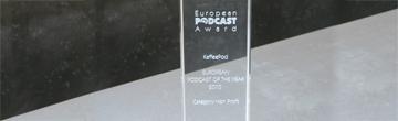 Die Auszeichnung: ein gläserner Award