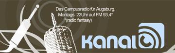 Kanal C sendet jeden Montag von 21-24 Uhr auf der Frequenz 93.4.